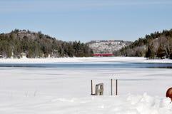 安大略的一个湖 免版税库存图片