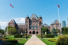 安大略省省议会在多伦多,加拿大 免版税库存照片