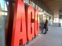 安大略美术馆在多伦多 图库摄影
