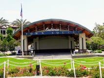 安大略镇中心在加利福尼亚 免版税库存图片