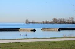 安大略风景湖  库存图片