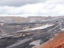 安大路西亚地球行业毁损开采的西班牙 库存照片
