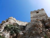 安大路西亚城堡筑堡垒于的穆斯林 免版税库存图片