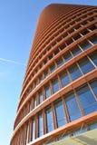 安大路西亚塞维利亚西班牙 现代办公室和旅馆塔高层建筑物 库存图片