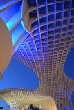 安大路西亚塞维利亚西班牙 Metropol遮阳伞结构 免版税库存图片