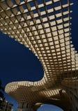 安大路西亚塞维利亚西班牙 Metropol遮阳伞结构 免版税库存照片