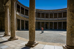 安大路西亚格拉纳达西班牙 免版税库存图片