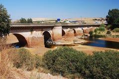 安大路西亚桥梁老西班牙 库存照片