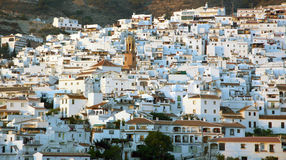 安大路西亚西班牙将军城镇视图 免版税库存图片