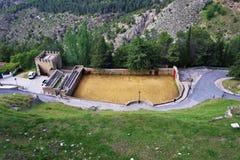 安大路西亚西班牙的老斗牛场 图库摄影