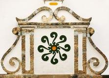 安大路西亚阿拉伯装饰详细资料符号 免版税图库摄影