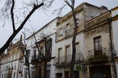 安大路西亚,西班牙的街道在该年2018年 免版税图库摄影