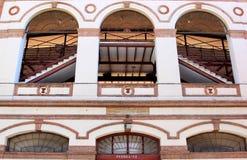 安大路西亚de la马拉加malagueta广场toros 免版税库存照片