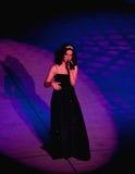 安妮・玛丽roddy歌唱家 图库摄影