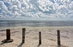 安妮` s海滩 库存图片