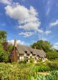 安妮Hathaway的村庄 免版税库存照片