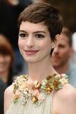 安妮Hathaway,黑暗 免版税库存照片