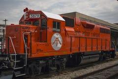 安娜堡铁路机车3879 库存图片