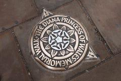 戴安娜威尔士王妃纪念步行 库存图片