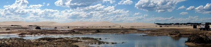安娜海湾海滩,澳大利亚 免版税库存照片