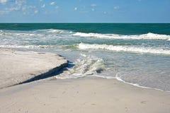 安娜玛丽亚海岛海岸线 库存照片