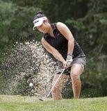 安娜高尔夫球金沙子 免版税库存照片