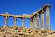 戴安娜,埃武拉,葡萄牙寺庙  库存图片