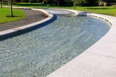 戴安娜Memorial Fountain公主在海德公园 免版税库存照片