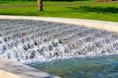 戴安娜Memorial Fountain公主在海德公园 库存图片
