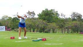 安娜Nordqvist在本田LPGA泰国中2017年 影视素材