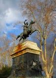 安尼塔加里波第纪念碑在罗马 免版税库存照片