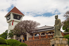 安屏堡垒在台南,台湾 库存照片