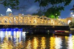 安徒生Bridge, 1910年。 库存图片