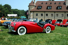 安徒生brittish汽车lars博物馆显示 库存图片