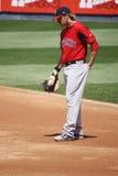 安徒生lars pawtucket Red Sox 库存照片