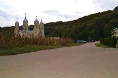 安得烈罗马尼亚教会  免版税库存图片
