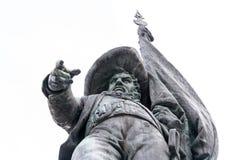 安德烈亚斯Hofer雕象在因斯布鲁克 库存照片