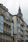 安德烈玛丽亚Zuriaren广场, Vitoria-Gasteiz,巴斯克地区 免版税库存图片