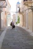安德罗斯海岛-希腊 免版税库存照片