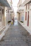 安德罗斯海岛-希腊 免版税库存图片