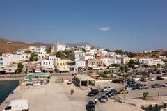 安德罗斯海岛-希腊 库存图片