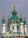 安德鲁教会基辅s乌克兰 免版税库存照片