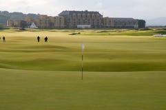 安德鲁斯路线高尔夫球st 免版税库存图片