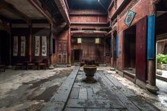 安徽伊羡宏村Chengzhi教会 库存照片