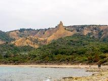 安扎克小海湾, Gallipoli 免版税图库摄影