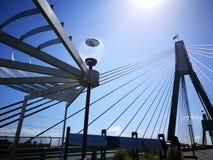 安扎克桥梁在夏天 库存图片