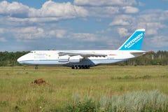 安托诺夫安-124 'Ruslan' 图库摄影