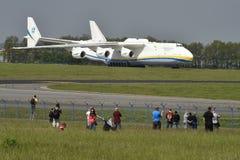 安托诺夫安-225 Mrija 库存照片