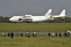 安托诺夫安-225 Mrija 库存图片