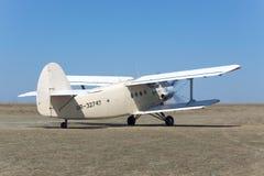 安托诺夫An-2飞机 免版税图库摄影